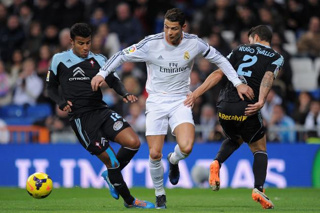 Real Madrid vs. Celta Vigo: 6 Things We Learned from Blancos' First Win of 2014
