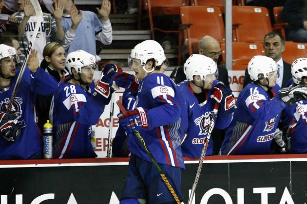 Slovenia Olympic Hockey Team 2014: Full 25-Man Roster, Projected Lines, Pairings