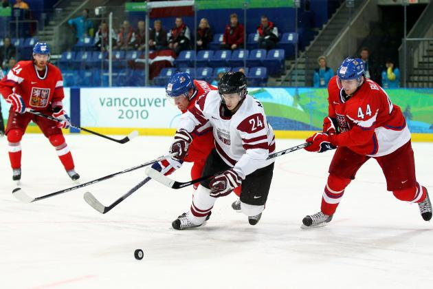 Latvia Olympic Hockey Team 2014: Full 25-Man Roster, Projected Lines, Pairings