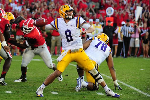 LSU Football: Power Ranking the Best Individual Offensive Performances of 2013