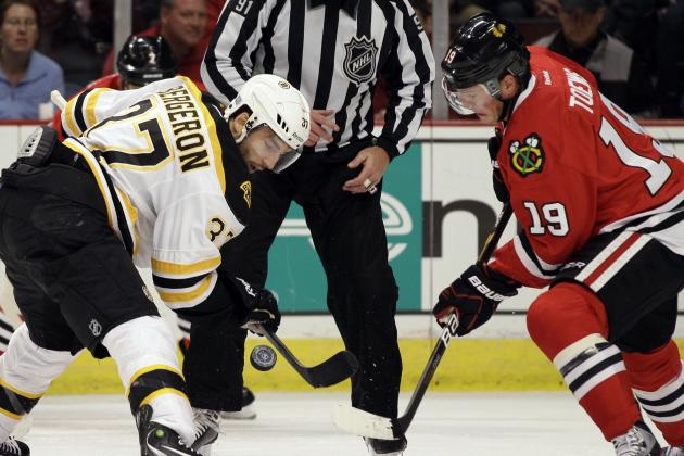 Ranking the Top 10 Faceoff Artists in the NHL in the 2013-14 Season