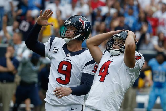 5 Houston Texans Who Will Be on the Roster Bubble in 2014