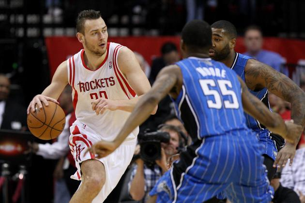 Potential Landing Spots for Houston Rockets Big Man Donatas Motiejunas
