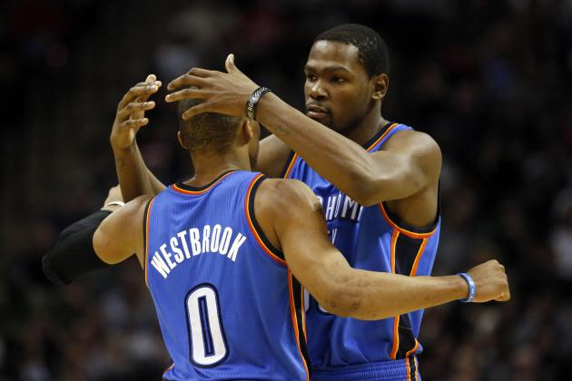 Final 1st-Half Player Power Rankings for OKC Thunder
