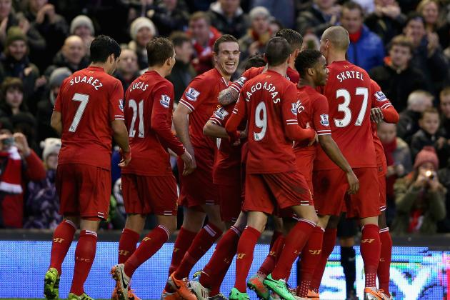 How Liverpool Will Line Up Against Stoke City