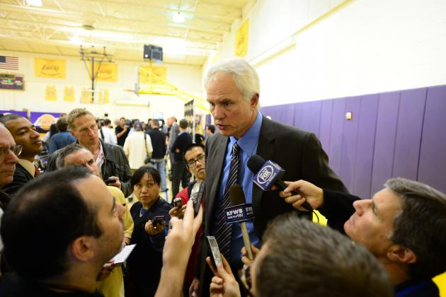 Mitch Kupchak Talks Kobe, Pau Gasol and LA Lakers' Future