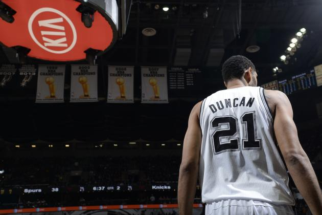 Final 1st-Half Player Power Rankings for San Antonio Spurs