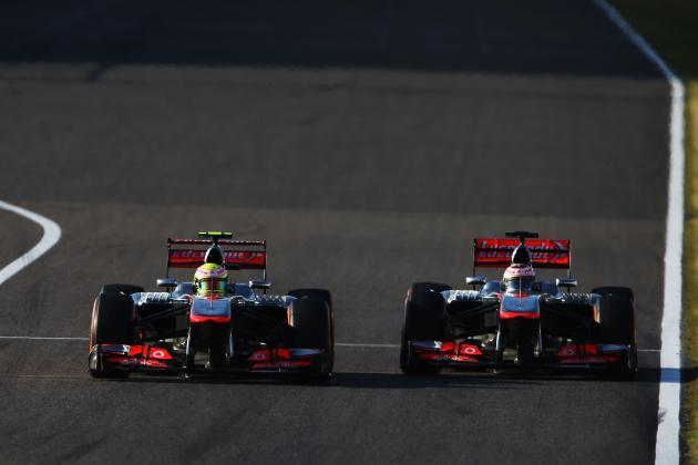 F1 2013 Head-to-Head: Jenson Button vs. Sergio Perez at McLaren