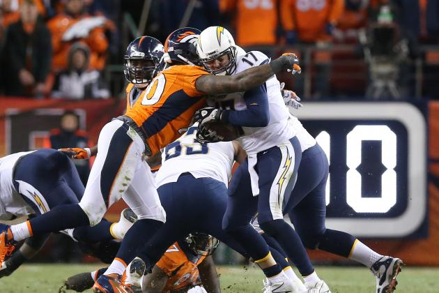 San Diego Chargers' Positional Grades vs. Denver Broncos