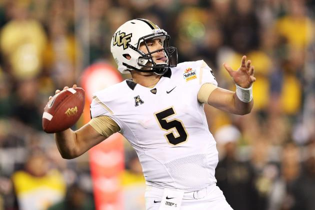 Ranking the Top Quarterbacks in the 2014 NFL Draft