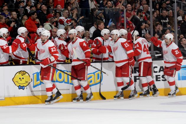 5 Positive Signs for the Detroit Red Wings' 2013-14 Playoff Hopes