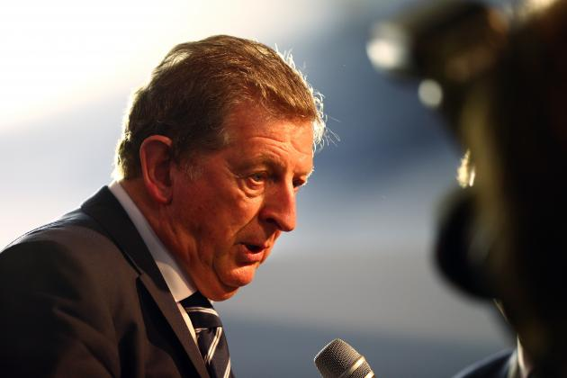 At the Departure Gate: Who's Currently in Hodgson's 23-Man England Squad?
