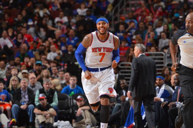 Ranking the Top 5 NBA Players at Every Position: Melo Moves Up at Small Forward