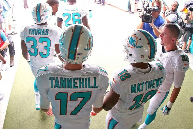 Miami Dolphins '14 Salary Cap: Breaking Down Overall Position-Specific Cap Space