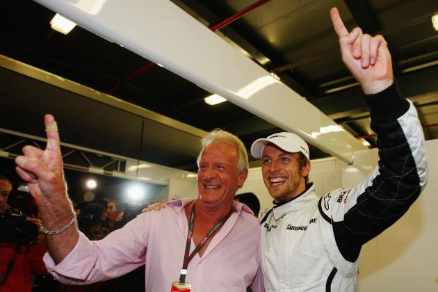 John Button and Other Inspirational Formula 1 Fathers