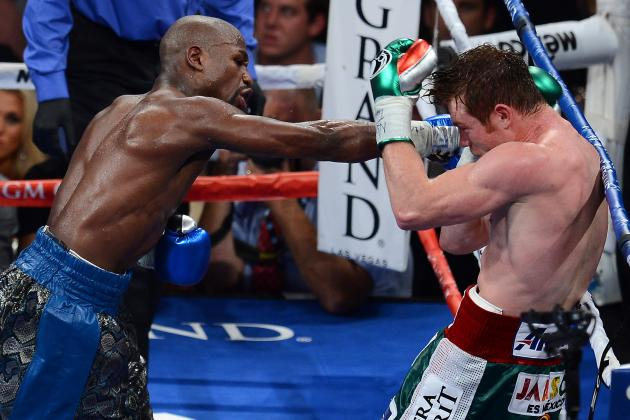 Odds for the Top Contenders to Be Floyd Mayweather's Next Opponent
