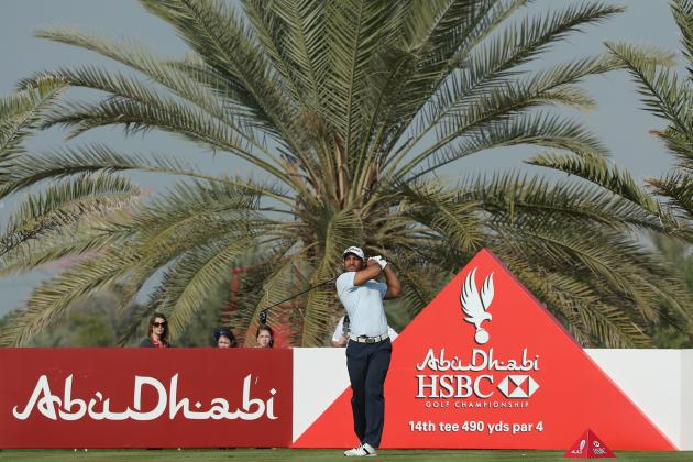 Abu Dhabi HSBC Golf Championship 2014: Daily Leaderboard Analysis and Highlights