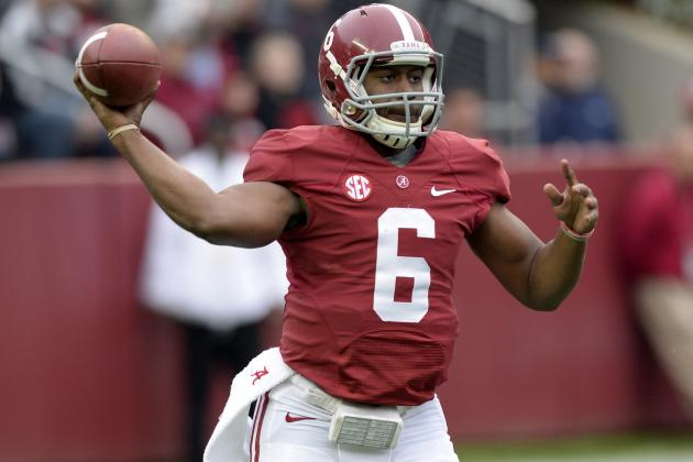 Alabama Football: Breaking Down Tide's QB Contenders for 2014 Season