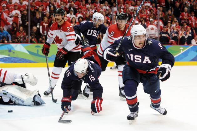 Ranking Every 2014 Olympic Ice Hockey Team's Offense