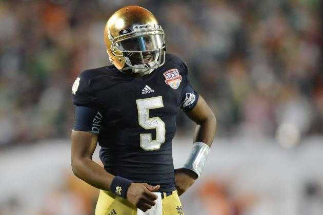 Notre Dame Football: Who Will Be Everett Golson's Top Offensive Weapons in 2014?