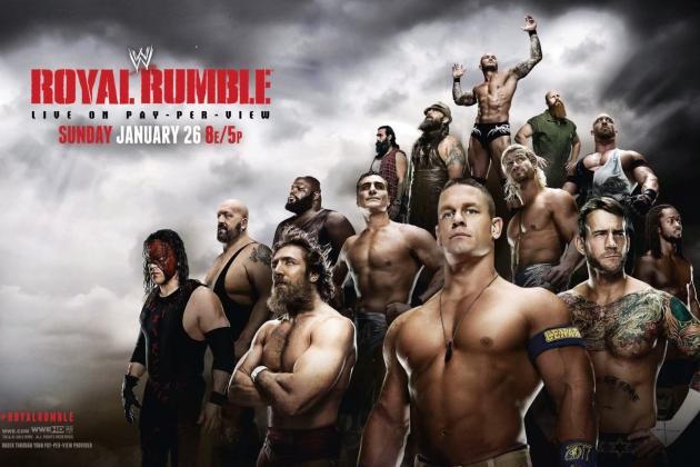 WWE Royal Rumble 2014: Power Ranking Likely Rumble Winners After Jan. 20 Raw