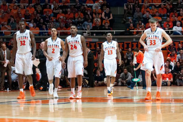 Illinois Basketball: Biggest Games Remaining on Illini's Schedule