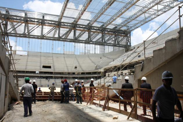 2014 World Cup Stadium Update: Five Venues Still Incomplete