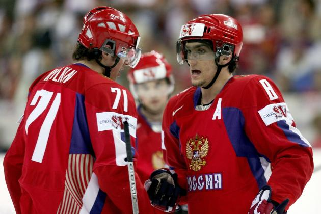 Power Ranking Every Forward on the 2014 Russia Olympic Hockey Team