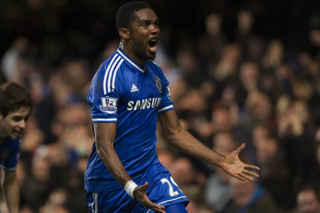 Top 5 Players from Around the World This Weekend: Eto'o Proves Mou Right Again