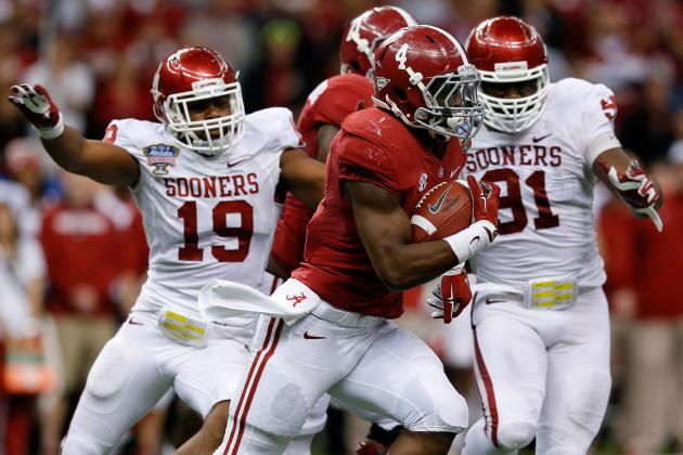 SEC Football: Top 5 Running Backs Returning for 2014