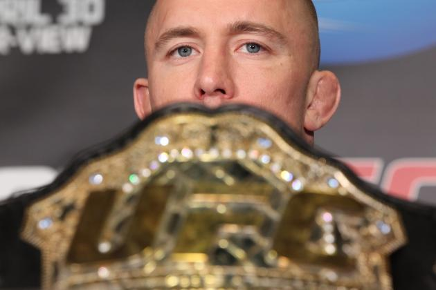 Mapping the UFC Welterweight Division Without Georges St-Pierre