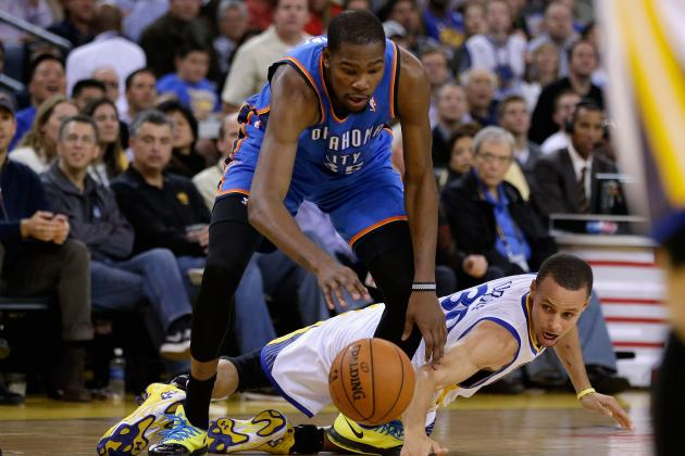 NBA MVP Odds 2014: It's Kevin Durant's Race to Lose