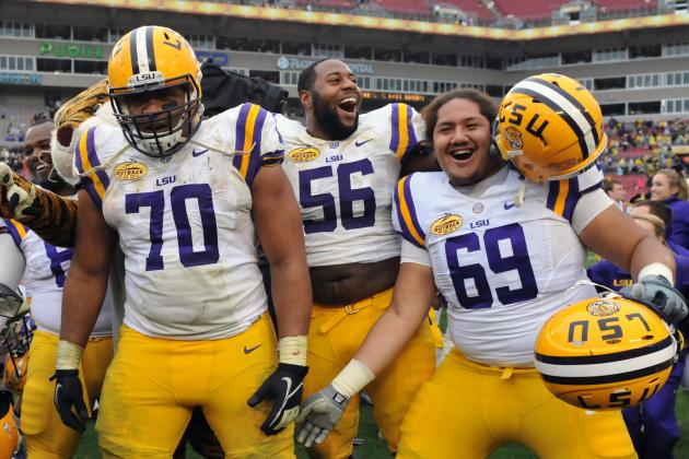 LSU Football: La'el Collins and the Top 5 Most Important Returning Tigers