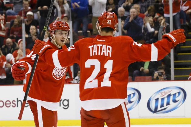 The Hottest and Coldest Detroit Red Wings Right Now