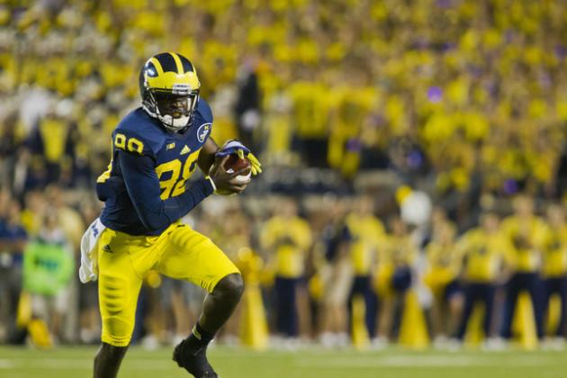 Michigan Football: Offensive Grades and 2014 Outlook
