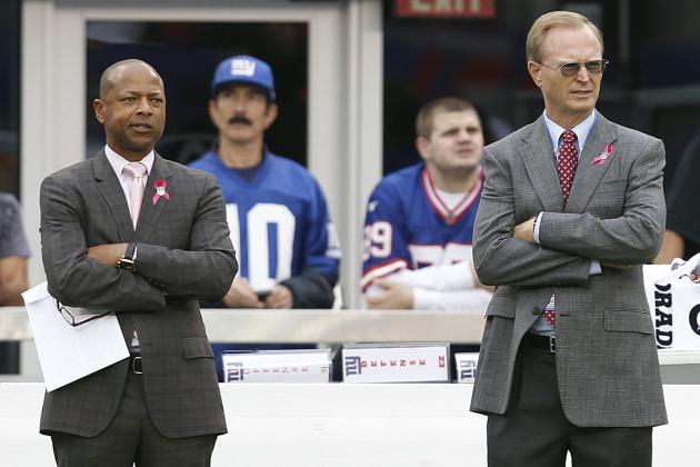 Ranking New York Giants' Top 5 Draft Needs