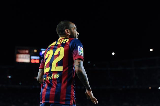Dani Alves and the Top 20 Buccaneering Full-Backs in World Football