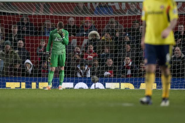 Manchester United vs. Sunderland and the Worst Penalty Shootouts Ever