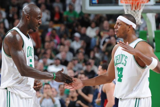 Paul Pierce and Kevin Garnett's Finest Moments as Boston Celtics