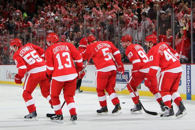 Ranking the 5 Best European Players in Detroit Red Wings History