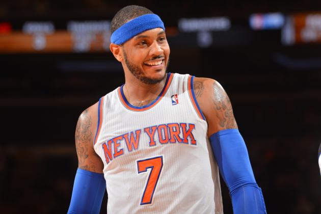 Ranking the Best Potential Destinations for Carmelo Anthony This Offseason