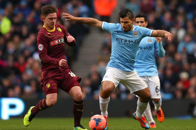 FA Cup Weekend in 20 Pictures: Aguero Saves City Blushes