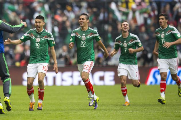 How Mexico Will Line Up Against South Korea
