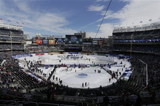 NHL Stadium Series: New Jersey Devils vs. New York Rangers Photo Gallery