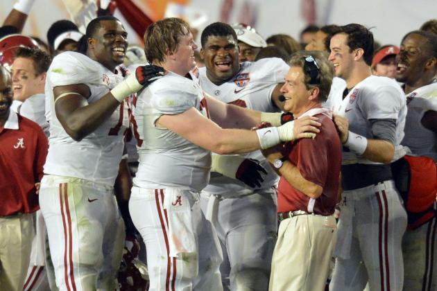 Alabama Football: Power Ranking the Tide's 5 Best Classes of the BCS Era