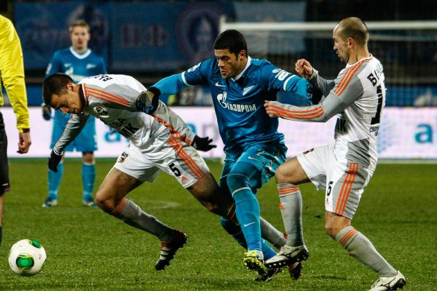 Hulk Transfer Rumours: Latest News on the Zenit Saint Petersburg Star