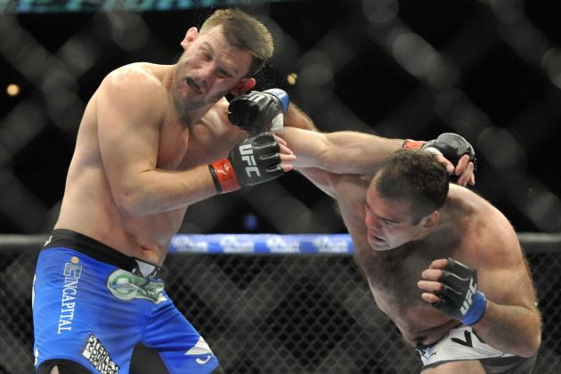 UFC on Fox 10 Results: Updating the Heavyweight Rankings