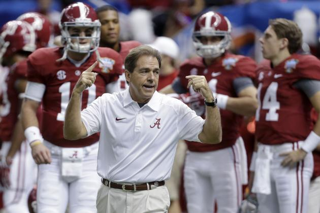 Alabama Football: Coach Nick Saban's Biggest National Signing Day Battles