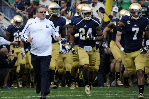 Notre Dame Football: Power Ranking Irish's 5 Best Classes of the BCS Era