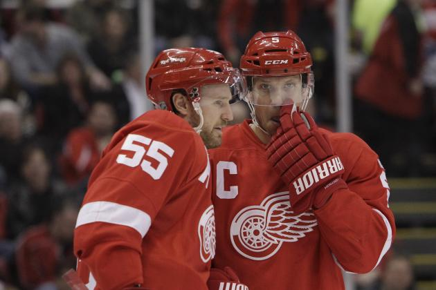 Ranking the 5 Best Scoring Defensemen in Detroit Red Wings History